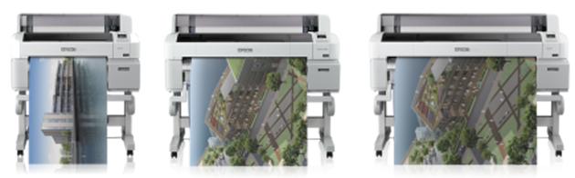 Epson SureColor SC-T3000, SC-T5000, SC-T7000 im Lineup
