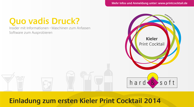 Print Cocktail, 2014, Kiel