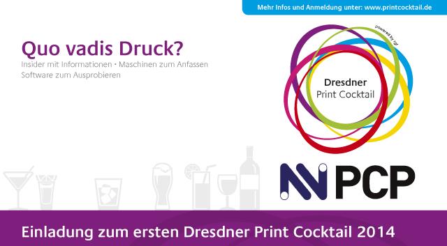 Print Cocktail, 2014, Dresden