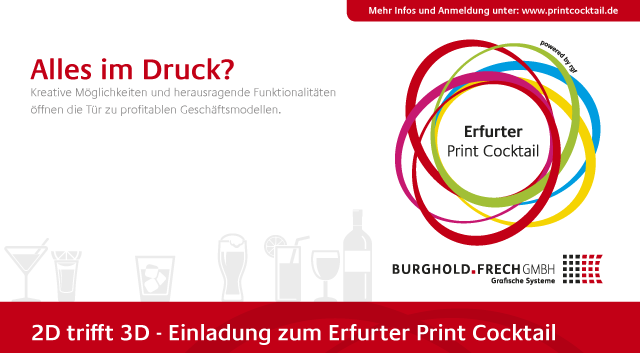Print Cocktail, 2014, Erfurt